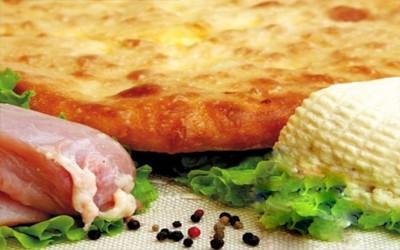 Пирог: Мясо и сыр