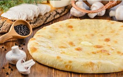 Пирог: Курица, грибы и сыр