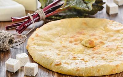 Пирог: Сыр и свекольные листья